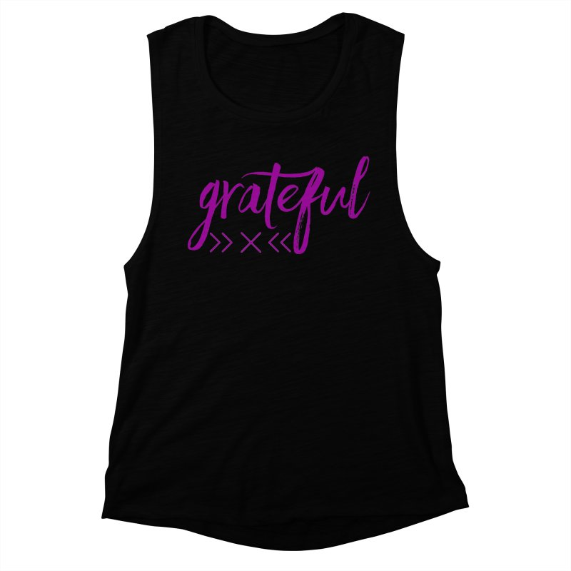 Grateful Women's Muscle Tank by Crystalline Light