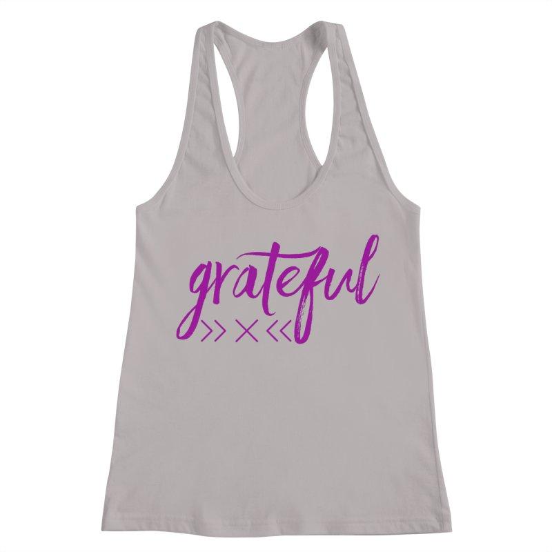 Grateful Women's Racerback Tank by Crystalline Light