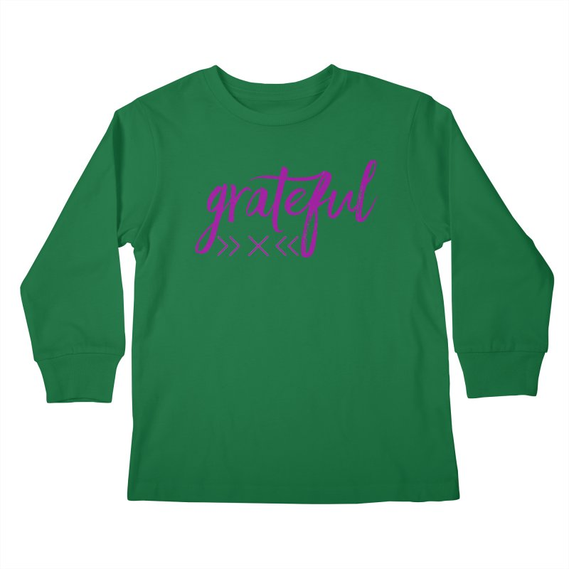 Grateful Kids Longsleeve T-Shirt by Crystalline Light