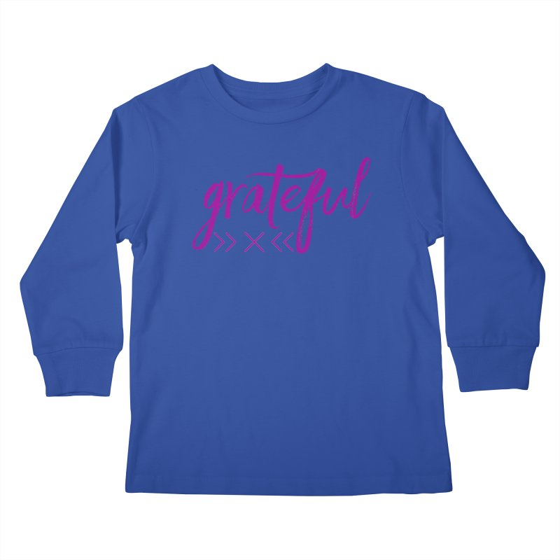 Grateful Kids Longsleeve T-Shirt by Crystalline Light
