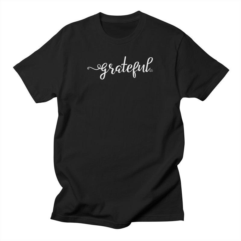 Grateful Men's T-Shirt by Crystalline Light