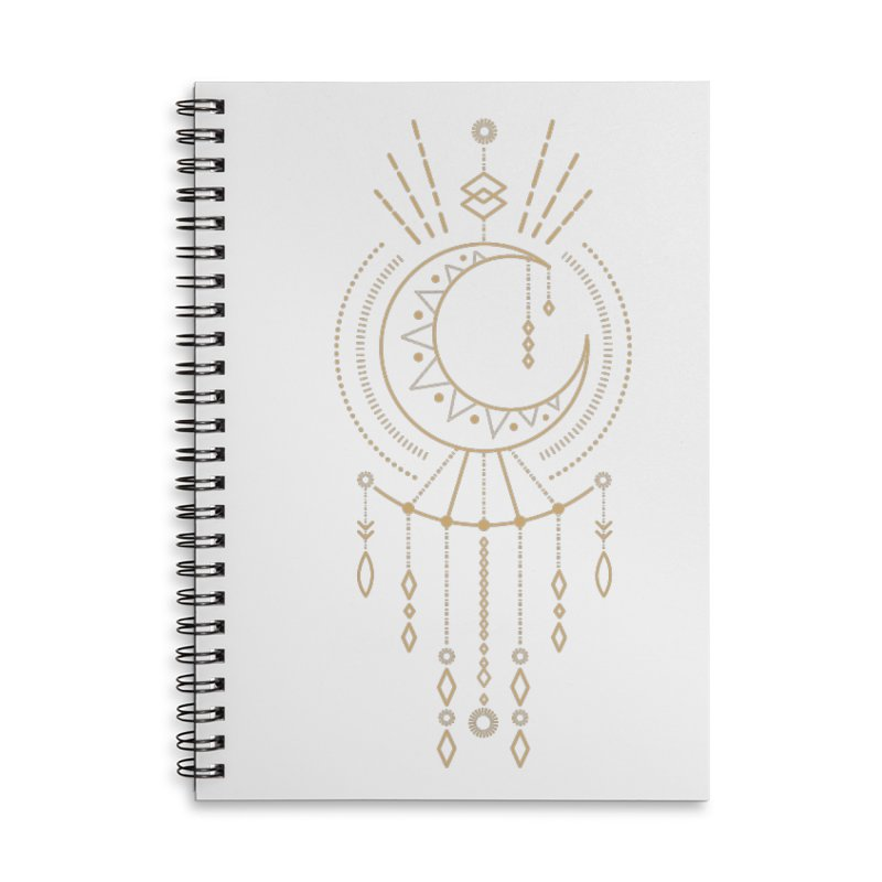 Moon Child Totem Accessories Notebook by Crystalline Light