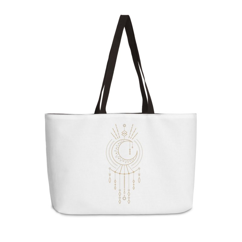 Moon Child Totem Accessories Bag by Crystalline Light