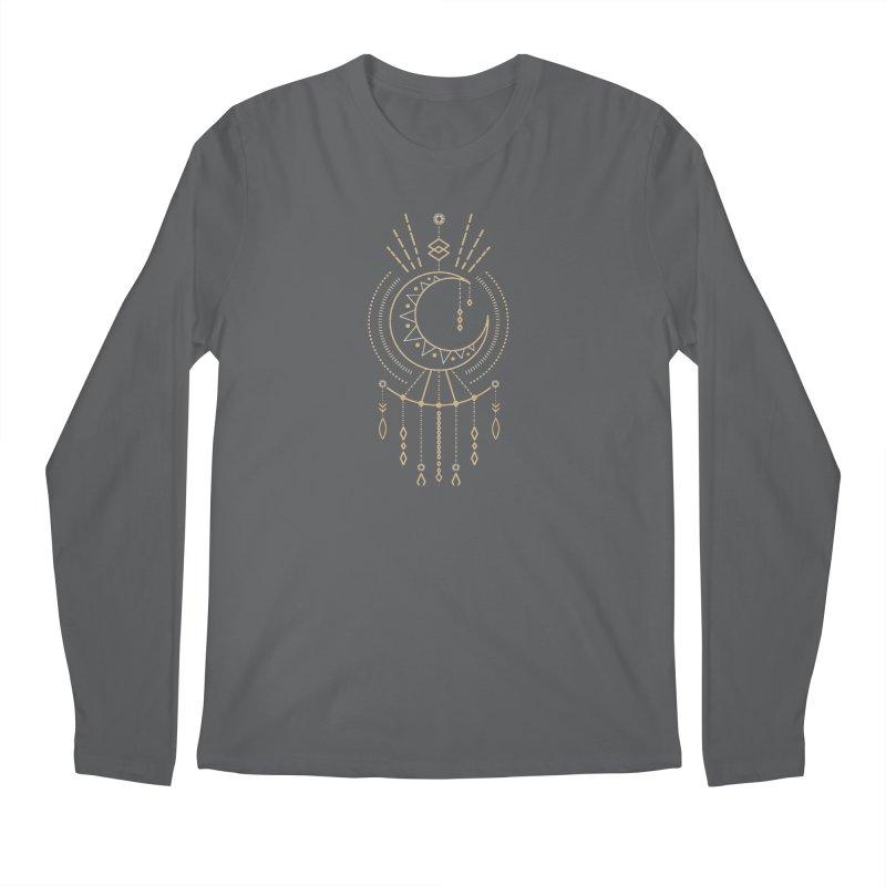 Moon Child Totem Men's Longsleeve T-Shirt by Crystalline Light