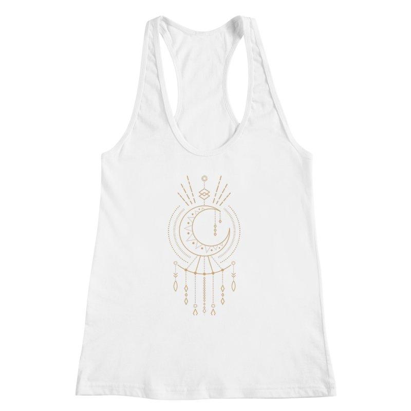 Moon Child Totem Women's Tank by Crystalline Light