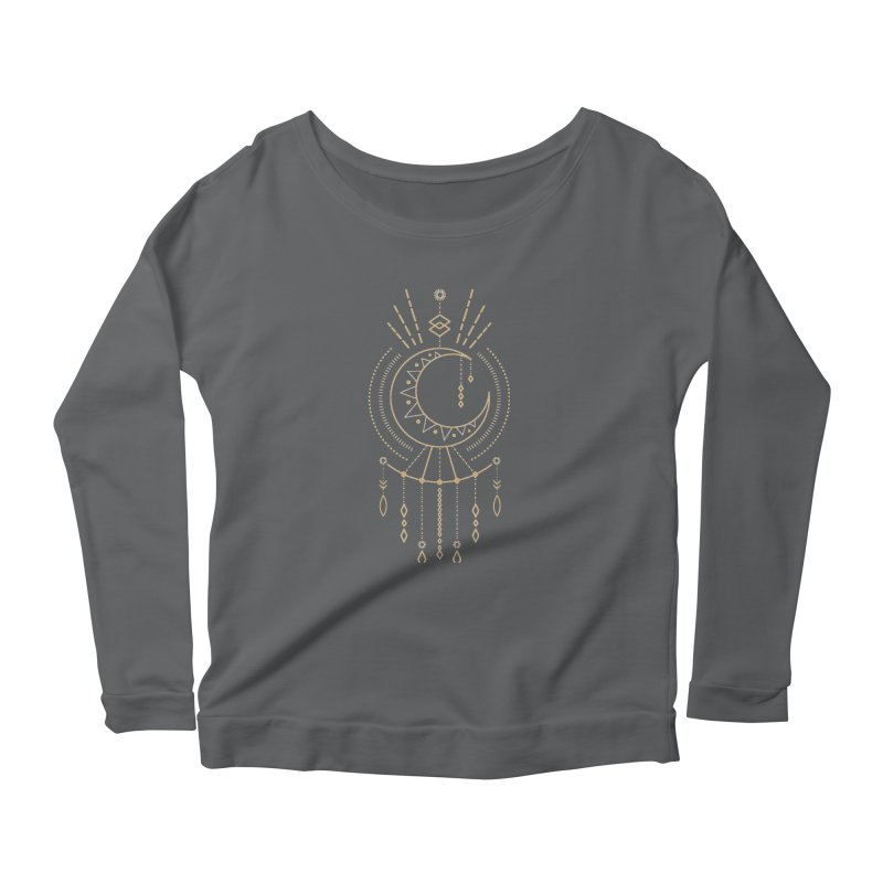 Moon Child Totem Women's Longsleeve T-Shirt by Crystalline Light