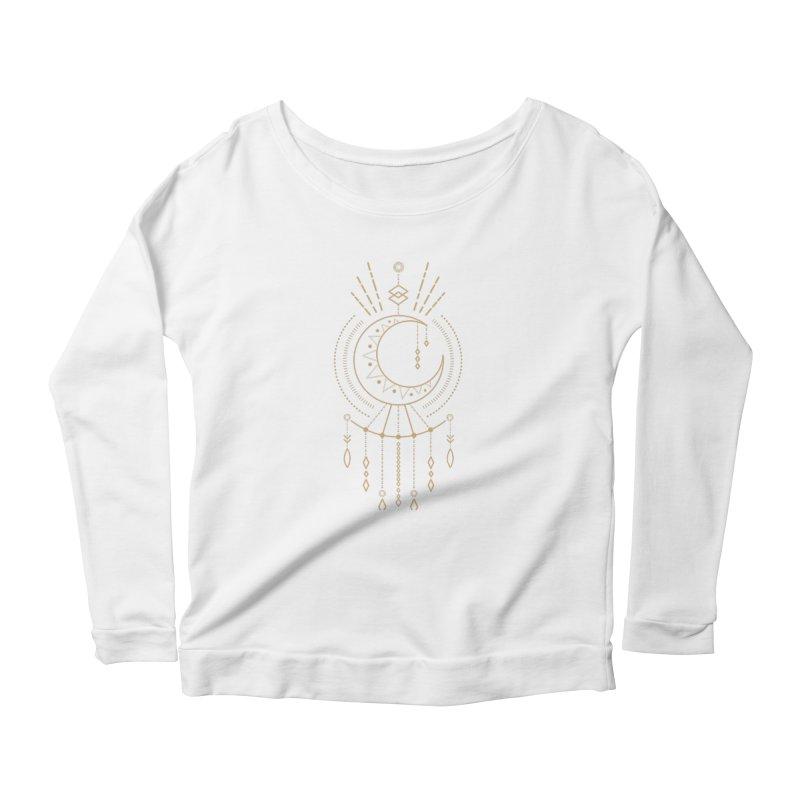 Moon Child Totem Women's Longsleeve T-Shirt by Crystalline Light