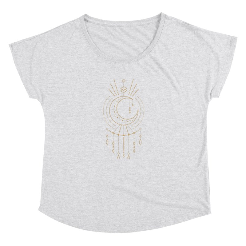 Moon Child Totem Women's Scoop Neck by Crystalline Light