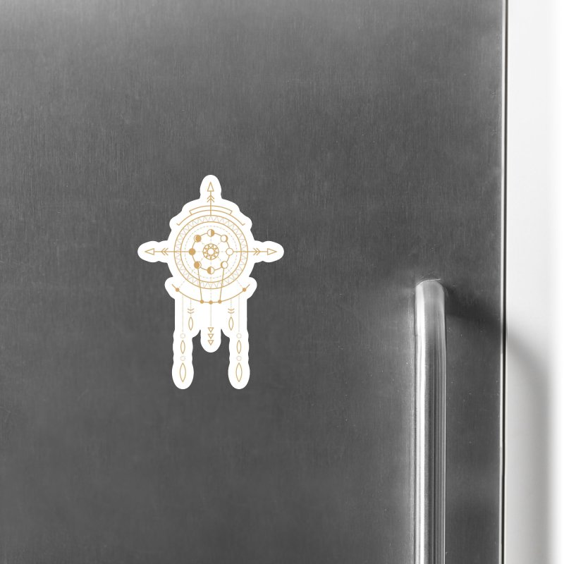 Moon Cycle Totem Accessories Magnet by Crystalline Light