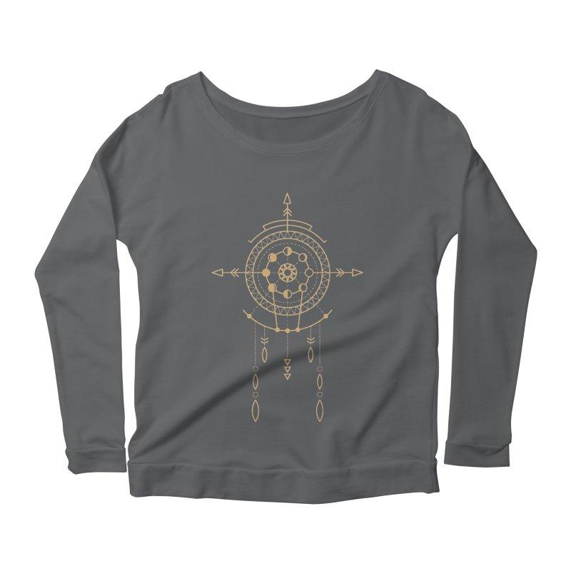 Moon Cycle Totem Women's Longsleeve T-Shirt by Crystalline Light