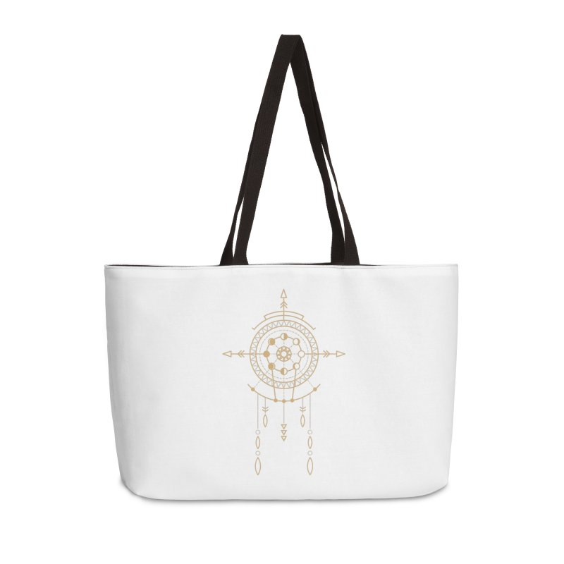 Moon Cycle Totem Accessories Bag by Crystalline Light
