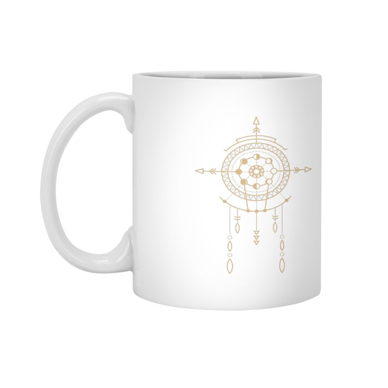 Moon Cycle Totem Accessories Mug by Crystalline Light