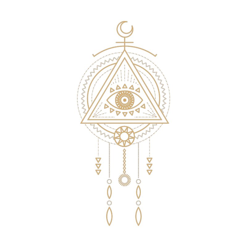 Magical Third Eye Totem Accessories Notebook by Crystalline Light