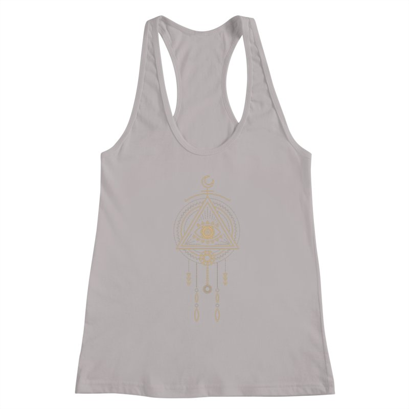 Magical Third Eye Totem Women's Tank by Crystalline Light