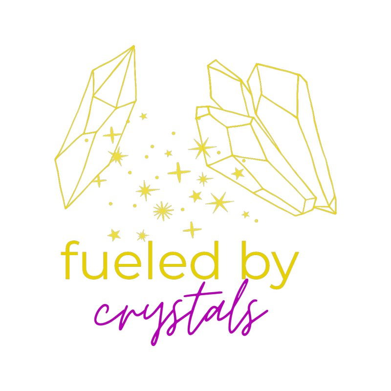 Fueled By Crystals Accessories Sticker by Crystalline Light