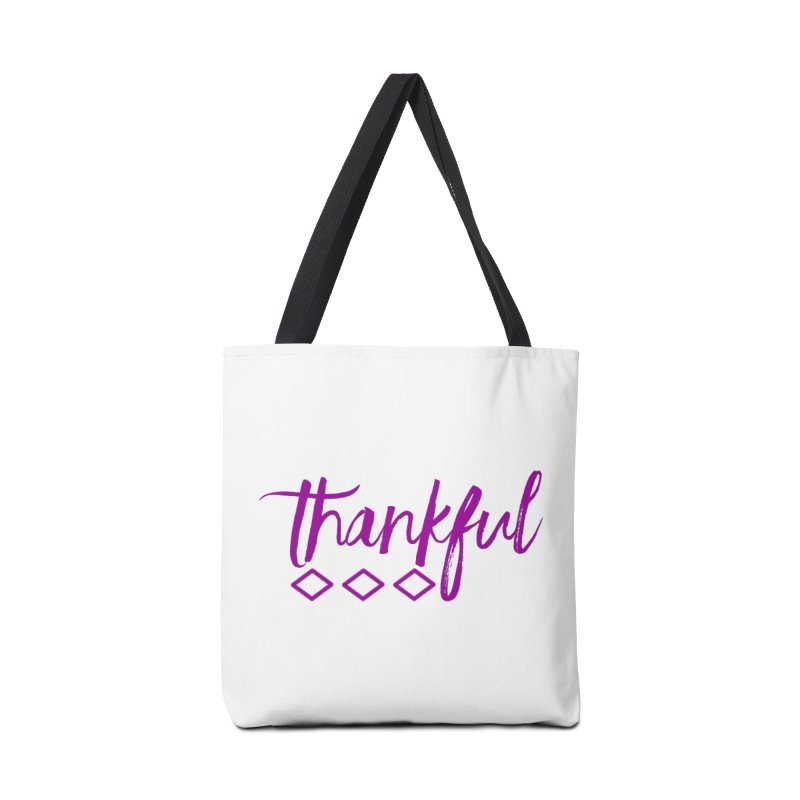 Thankful Accessories Bag by Crystalline Light