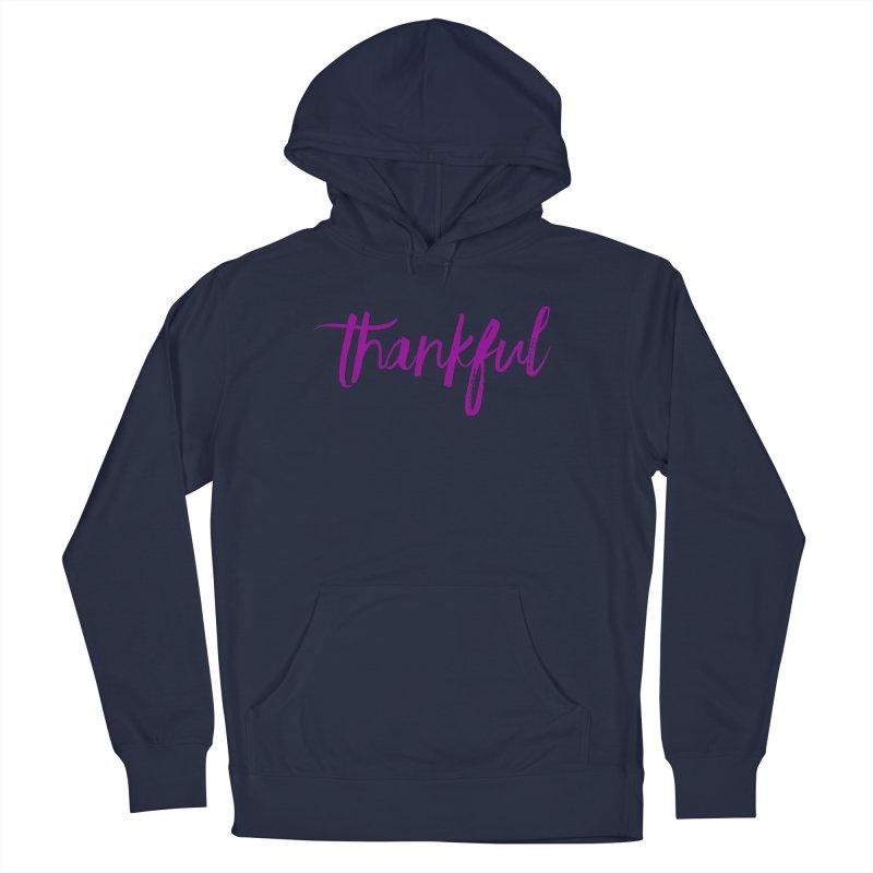 Thankful Men's Pullover Hoody by Crystalline Light