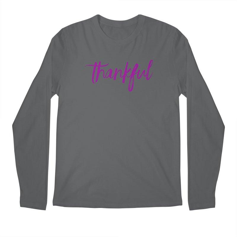 Thankful Men's Longsleeve T-Shirt by Crystalline Light
