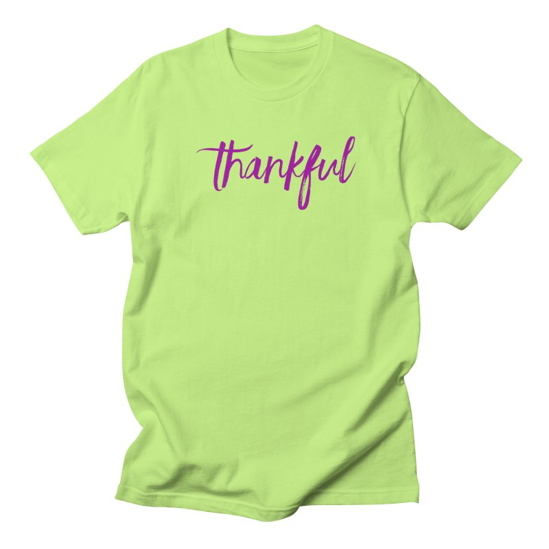 Thankful Men's T-Shirt by Crystalline Light