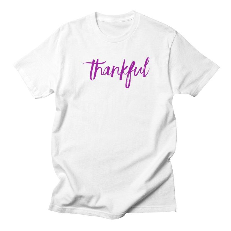 Thankful Men's T-Shirt by Crystalline Light