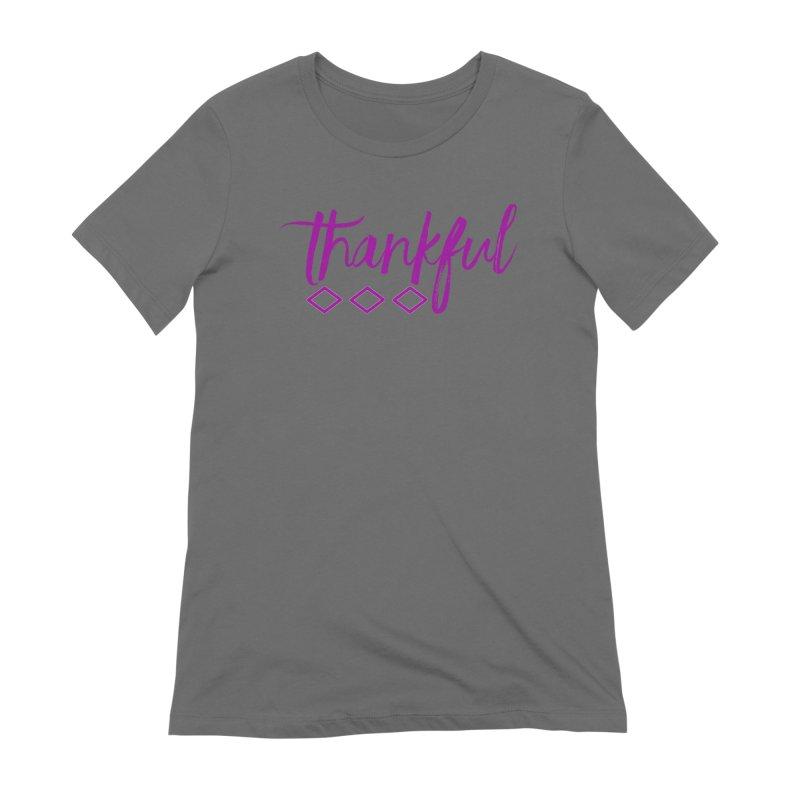 Thankful Women's T-Shirt by Crystalline Light