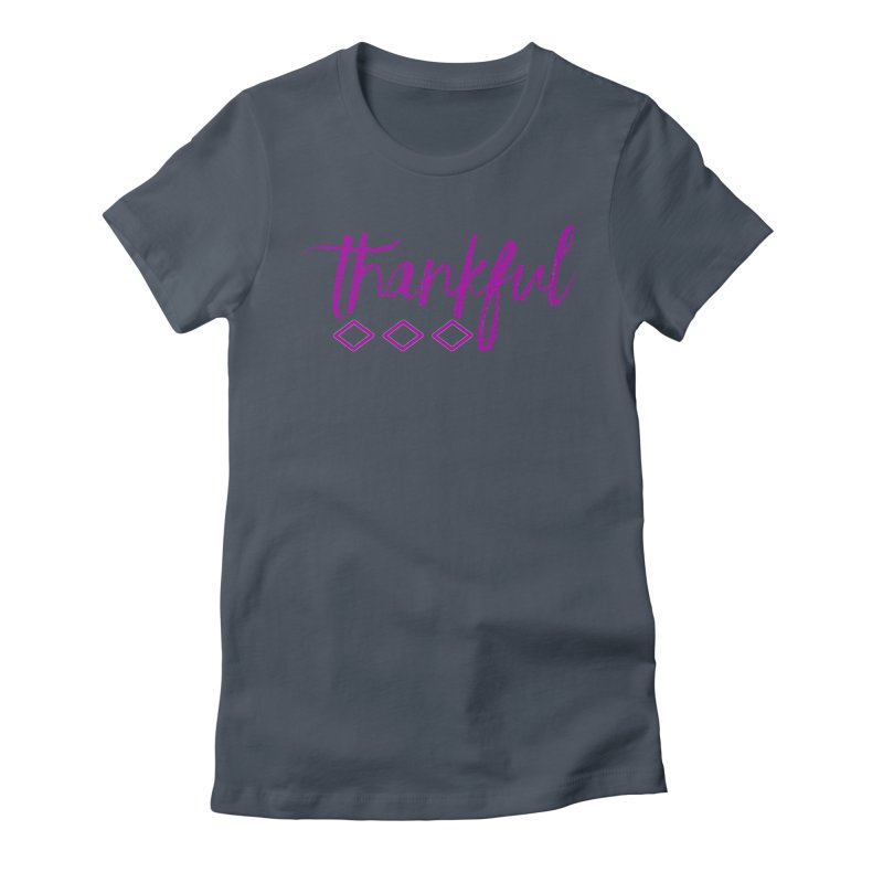 Thankful Women's T-Shirt by Crystalline Light