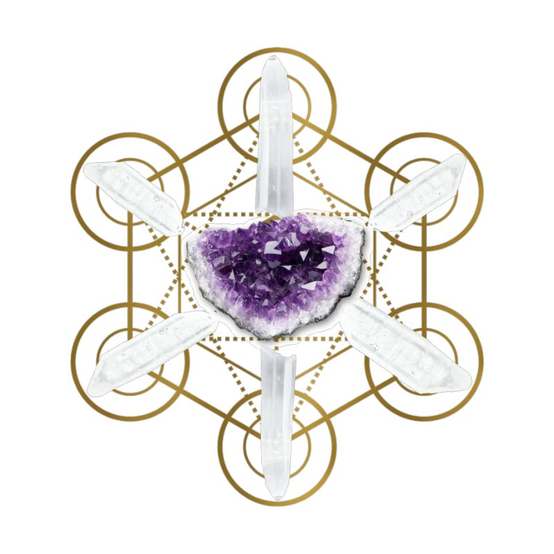 Metatron Spiritual Crystal Grid by Crystalline Light