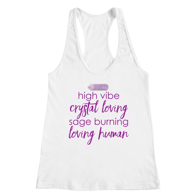 High Vibe Crystal Loving Women's Tank by Crystalline Light