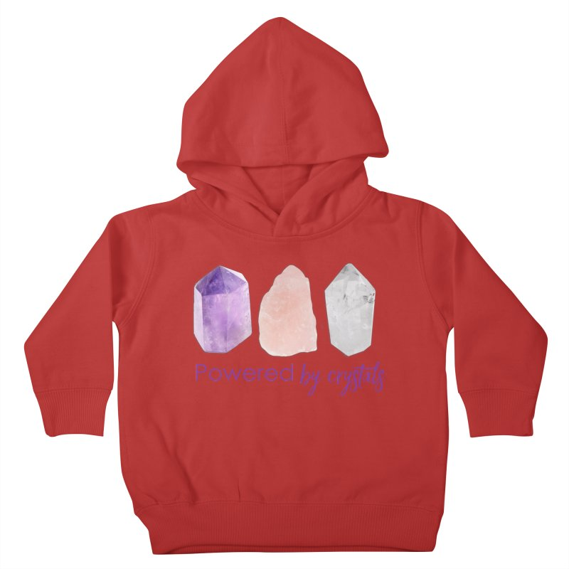 Powered by Crystals Kids Toddler Pullover Hoody by Crystalline Light