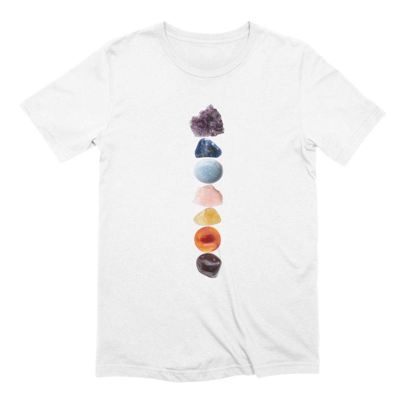 Chakra Balance Men's T-Shirt by Crystalline Light