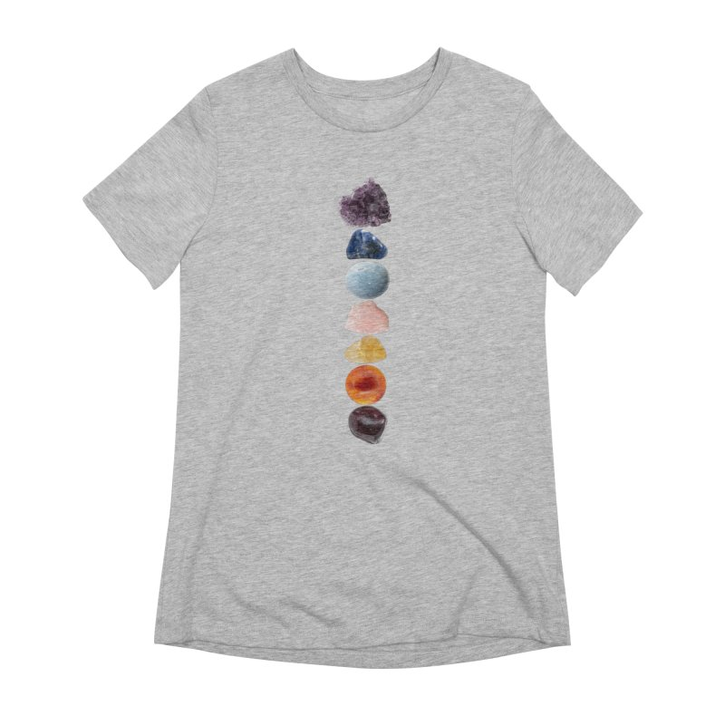 Chakra Balance Women's Extra Soft T-Shirt by Crystalline Light