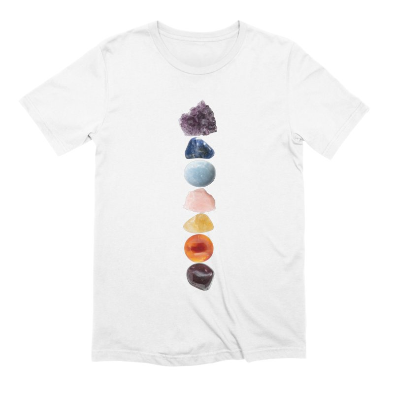 Chakra Balance Men's T-Shirt by Crystalline Light