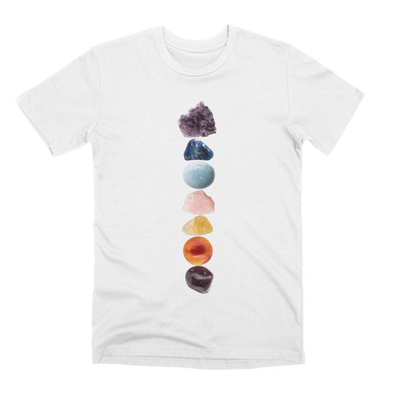 Chakra Balance Men's Premium T-Shirt by Crystalline Light