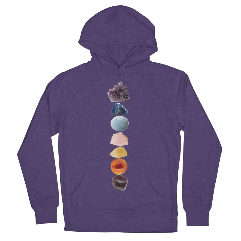 Chakra Balance Men's French Terry Pullover Hoody by Crystalline Light