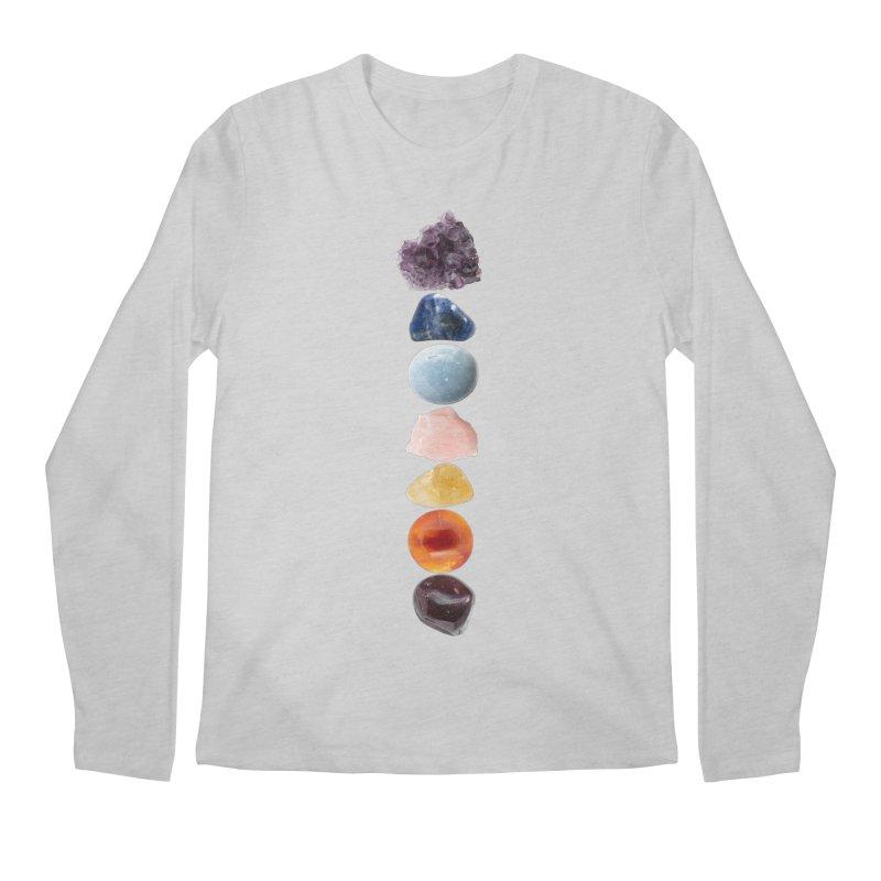 Chakra Balance Men's Regular Longsleeve T-Shirt by Crystalline Light