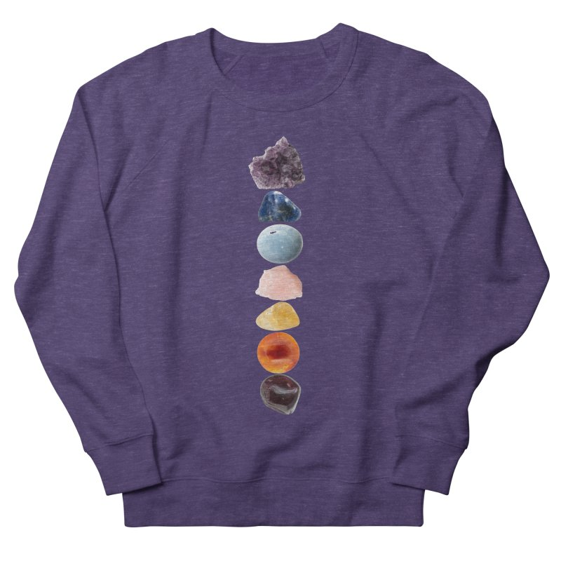 Chakra Balance Men's French Terry Sweatshirt by Crystalline Light