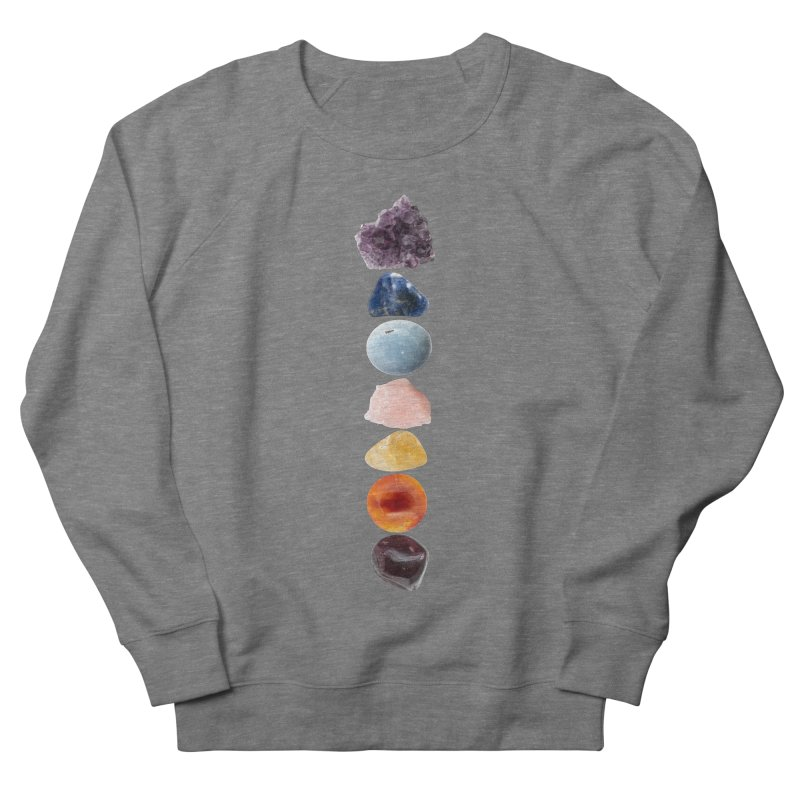 Chakra Balance Men's French Terry Sweatshirt by Crystalline Light