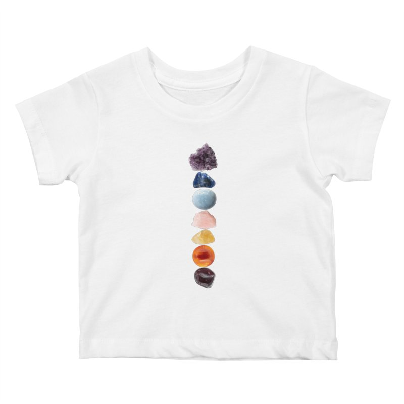 Chakra Balance Kids Baby T-Shirt by Crystalline Light