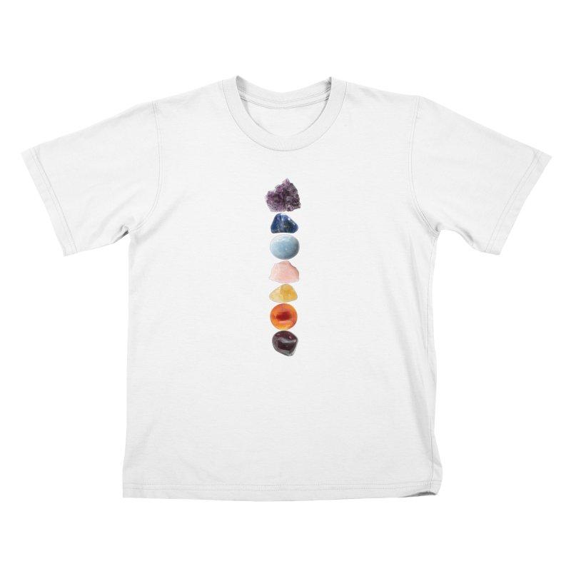 Chakra Balance Kids T-Shirt by Crystalline Light