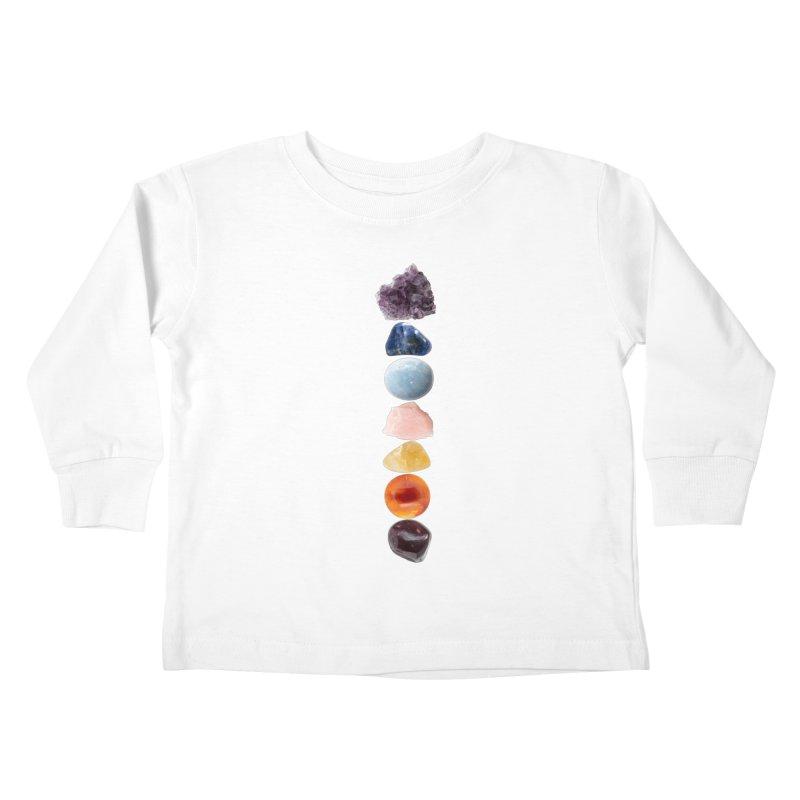 Chakra Balance Kids Toddler Longsleeve T-Shirt by Crystalline Light