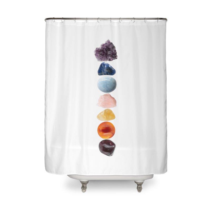 Chakra Balance Home Shower Curtain by Crystalline Light