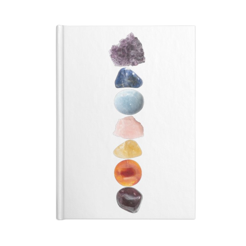Chakra Balance Accessories Blank Journal Notebook by Crystalline Light