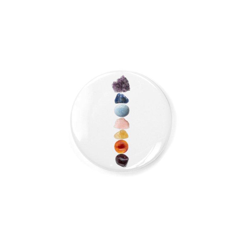 Chakra Balance Accessories Button by Crystalline Light