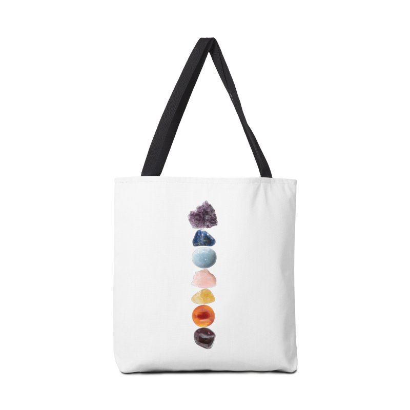 Chakra Balance Accessories Tote Bag Bag by Crystalline Light
