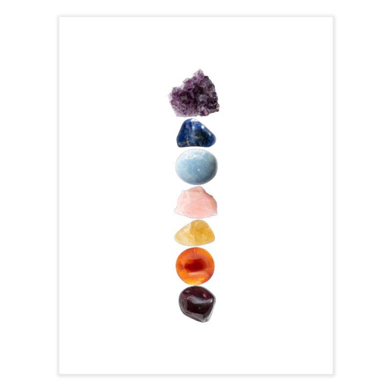 Chakra Balance Home Fine Art Print by Crystalline Light