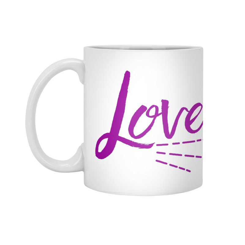 Love Accessories Standard Mug by Crystalline Light