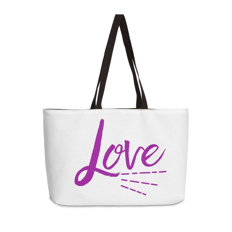 Love Accessories Weekender Bag Bag by Crystalline Light