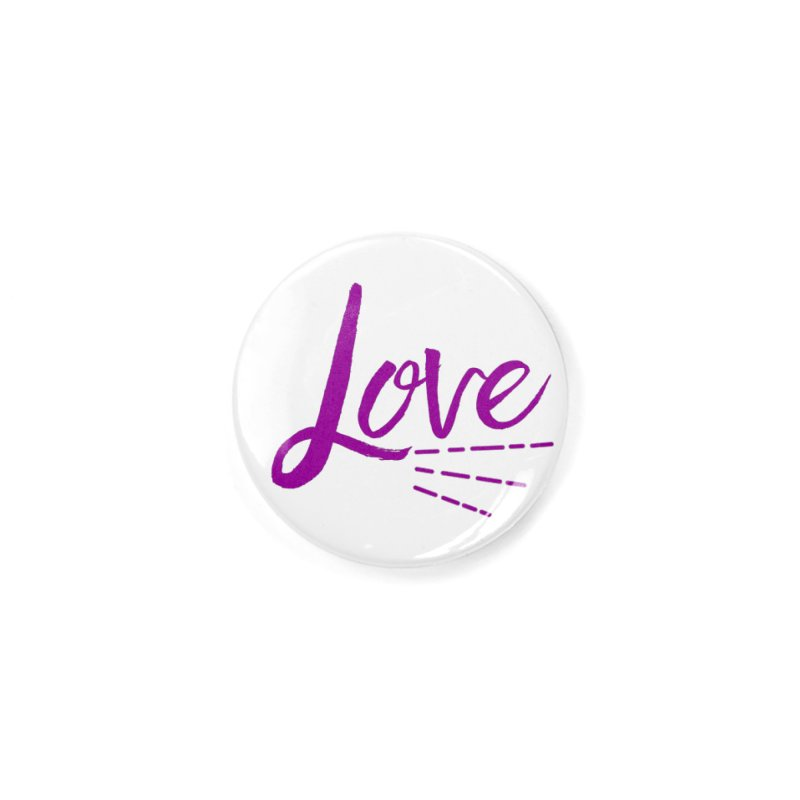 Love Accessories Button by Crystalline Light