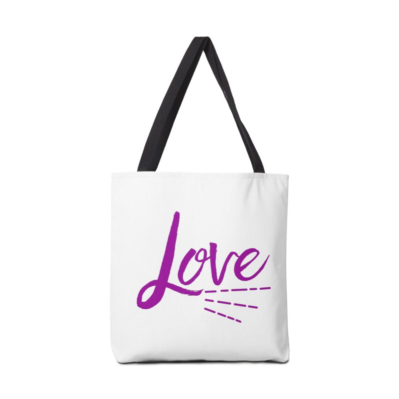 Love Accessories Tote Bag Bag by Crystalline Light