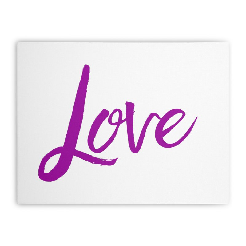 Love Home Stretched Canvas by Crystalline Light